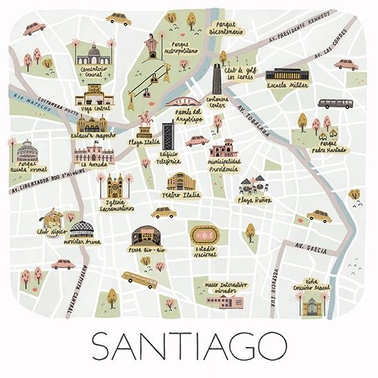 Mapa Santiago2