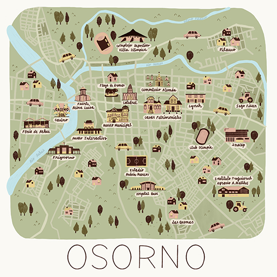 Mapa Osorno 2